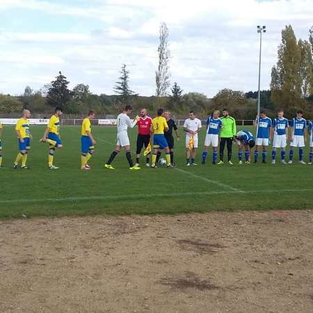 Match senior contre Noyers